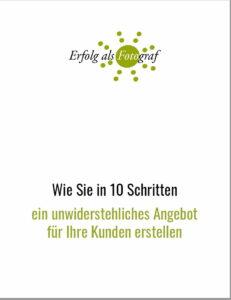 Angebot erstellen PDF Deckblatt