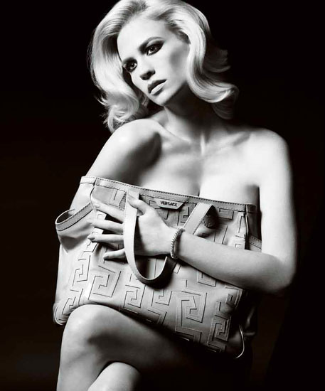 January Jones für Versace, Sommer-Kollektion 2011