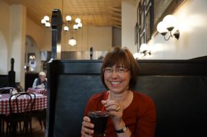 Auch nur vorgetäuscht: Ich trinke keine Cola, auch nicht in Santa Barbara.