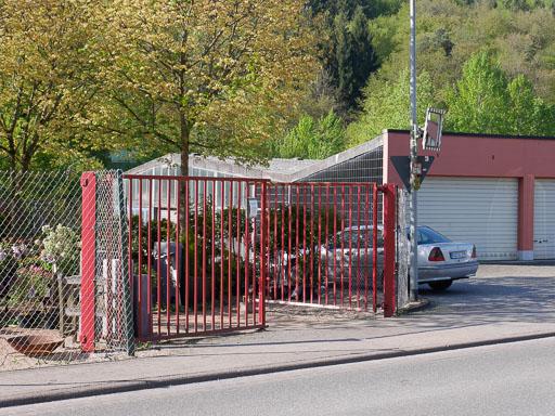 Scheidertalstraße Einfahrt zur W.-Passavant-Straße