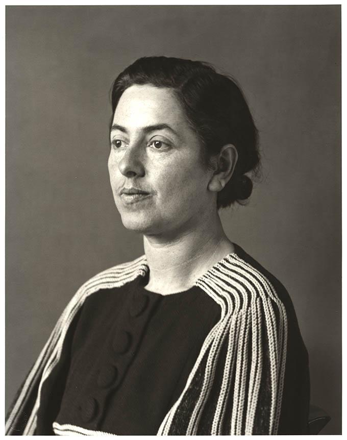 Frauenporträt von August Sander