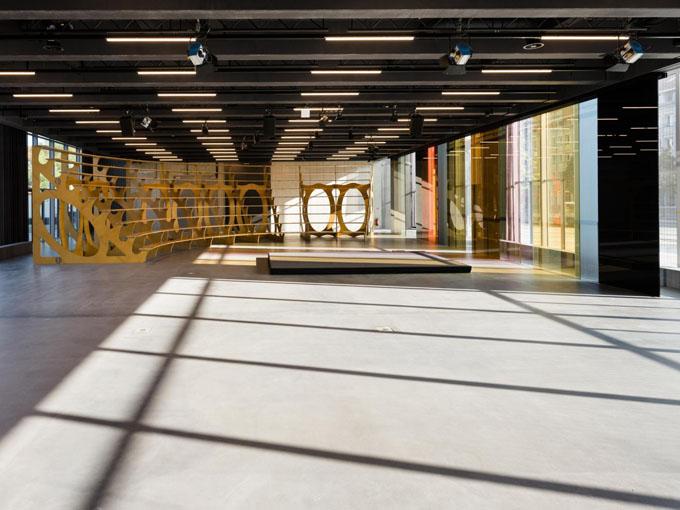 Innenraum Baushaus Museum Dessau