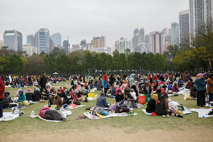 Park in Hongkong