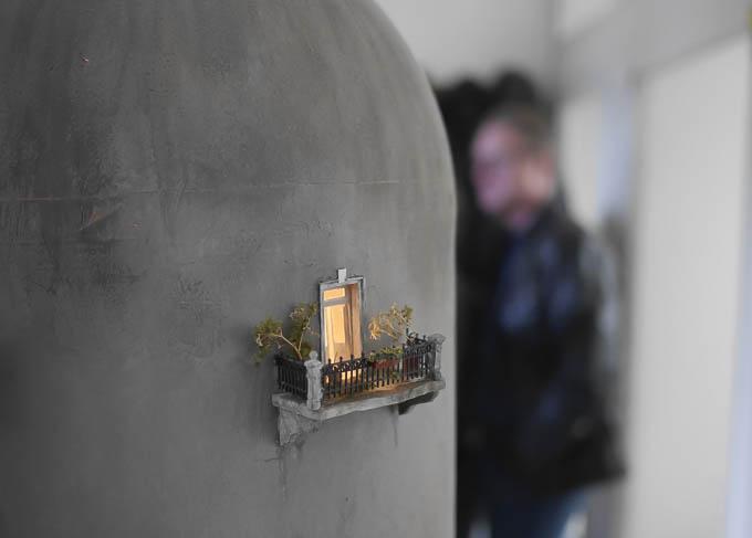 Balkon an Reaktor-Modell